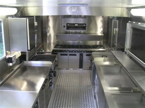 food truck kitchen design food concession trucks