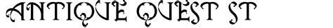 rubber st font generator antique quest st font