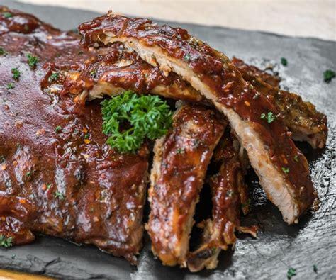 como cocinar costilla de cerdo receta f 225 cil y deliciosa de costillas de cerdo al ajillo