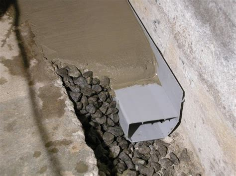 ct basement systems waterguard basement waterproofing system in branford ct