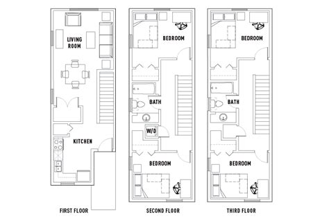 4 bed 2 bath floor plans 4 bed 2 bath townhome park point rochester student