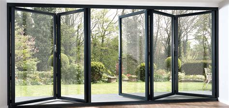 bi folding glass doors exterior aluminium bifold doors roof maker