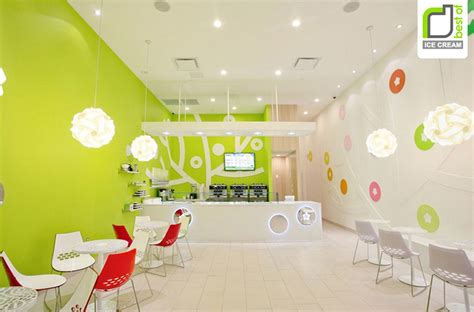 Girls Room Paint Ideas decorating cool interior design of an ice cream shop with