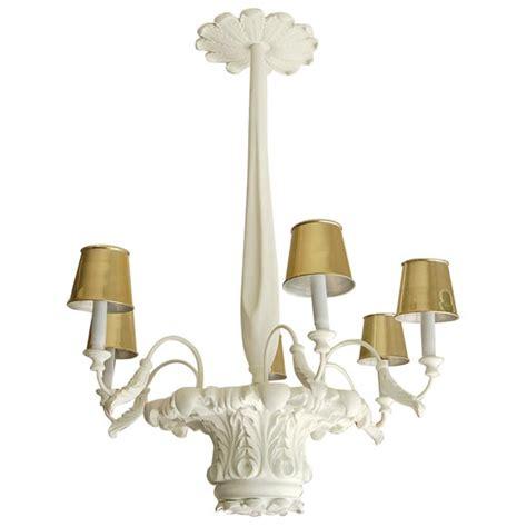 plaster chandelier dorothy draper plaster chandelier at 1stdibs