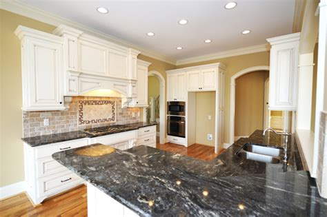 white kitchen cabinets black granite countertops kimboleeey white kitchen cabinets with granite