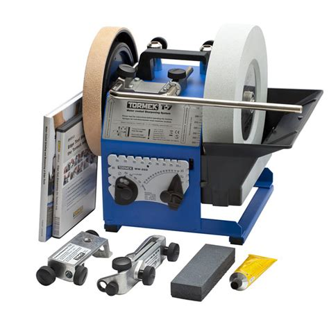 sharpening woodworking tools tormek t 7 sharpening system t7 sharpeners and grinders