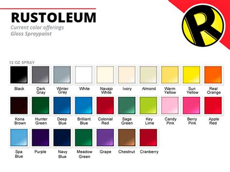 paint colors rustoleum rustoleum rebrand on behance