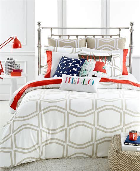 bow comforter set kate spade bow tile beige king comforter set shopstyle