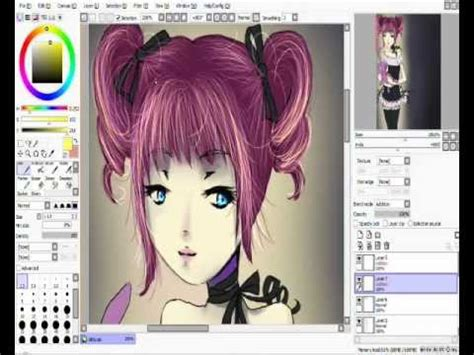 paint tool sai photoshop cs3 zeichnen playlist