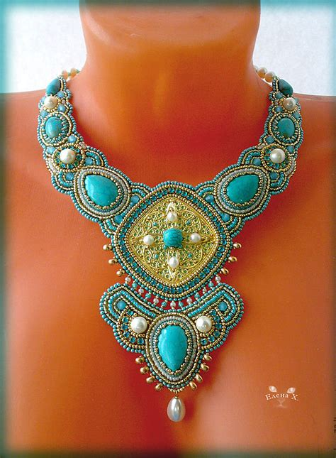 beaded jewelry techniques beautiful jewelry by hmelevskaya magic