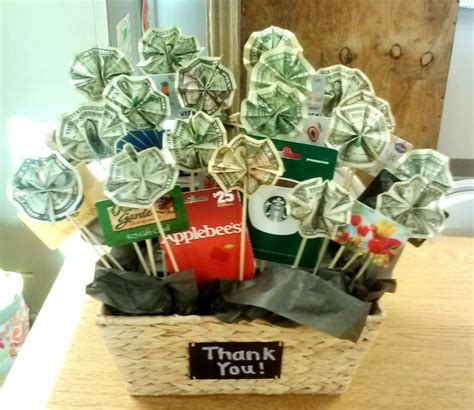 how to make a gift card basket gift card and money basket easy to make