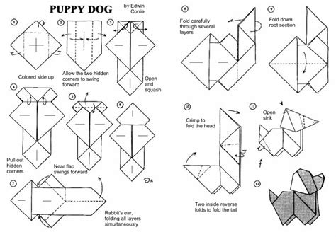 origami animals diagrams free origami diagrams learn how to make