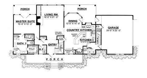 country kitchen floor plans the country kitchen 8205 3 bedrooms and 2 baths the house designers