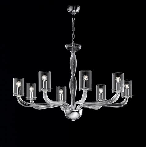 glass chandelier modern clear glass modern contemporary murano chandelier