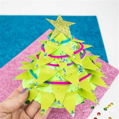 paper craft tree paper plate tree craft arty crafty