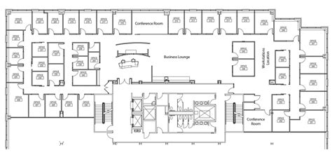 flor plan updated floor plan assemble park city office space