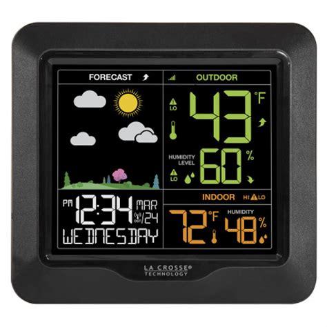 weather la club s85814 wireless color forecast station