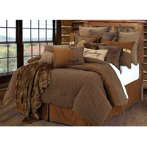rustic comforter sets crestwood cowboy comforter bedding set king