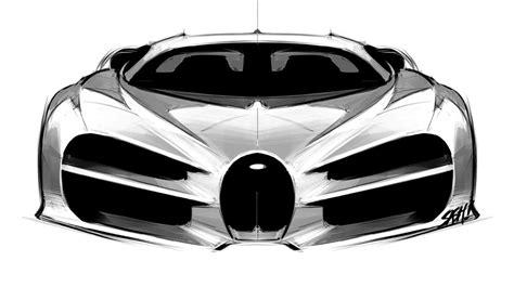 Bugatti Chiron Designer by Designer Revela Primeiros Desenhos Do Bugatti Chiron
