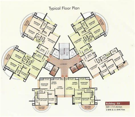 tower floor plans rutu towers in thane west mumbai price location map