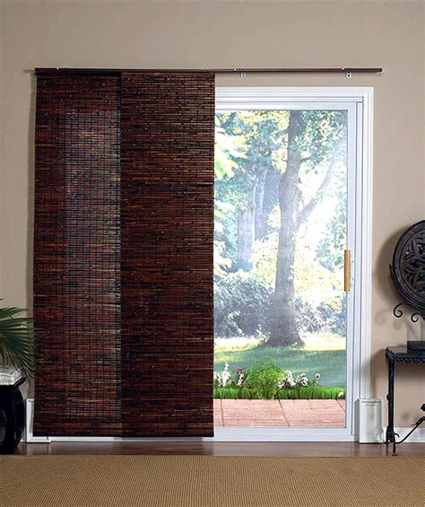 bamboo curtains for sliding glass doors curtains for sliding glass doors trendslidingdoors