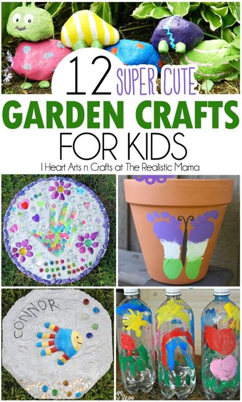 garden craft ideas for 12 garden crafts for gardens summer and