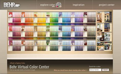 behr paint colors at home depot paint goes digital