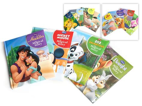 pictures story books disney the magical story book 4 pk woot toys