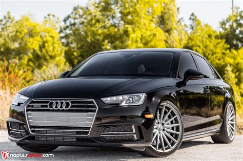 Audi A4 Rims by 2017 Audi A4 Hunkers On 20 Quot Custom Wheels Carscoops