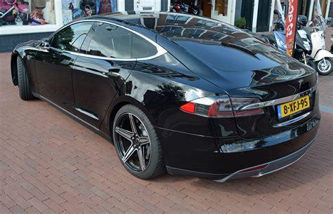 2014 Model S by File 2014 Tesla Motors Model S Rear View Netherlands Jpg
