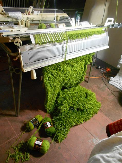 knitting classes nyc how do you make grass why on a knitting machine of course