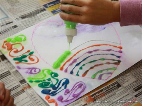 holi craft for sand holi in rainbow colours celebrating my s