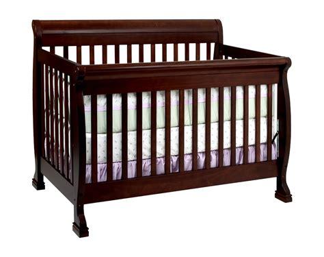 how baby in crib davinci kalani 4 in 1 convertible baby crib espresso w