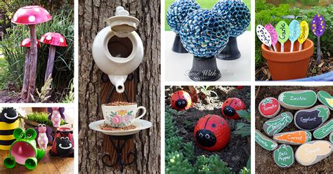 garden craft ideas for 29 best diy garden crafts ideas and designs for 2018
