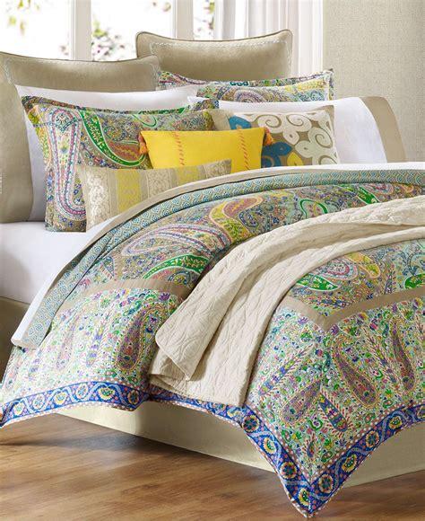 echo bedding sets echo bedding scarf paisley comforter from macys