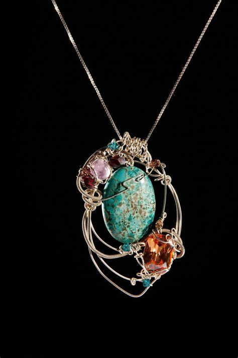 sterling silver wire for jewelry sterling silver wire wrapped jewelry chrysocolla