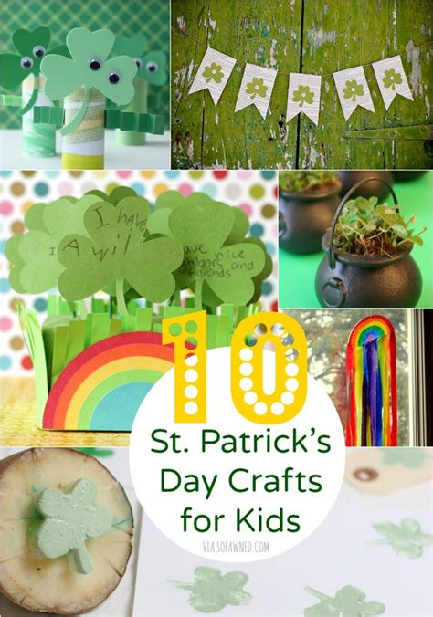 10 St S Day Crafts For Diy Crafts