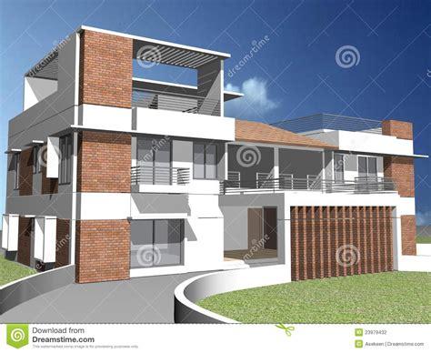 Kerala Home Design 1500 maison 3d duplex photographie stock image 23979432