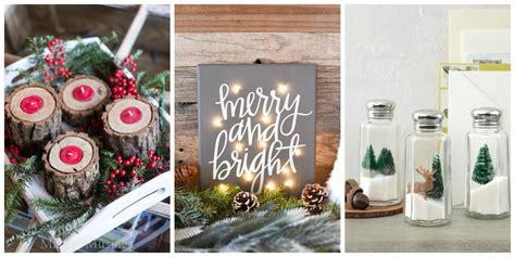 decorations to make at home for 30 diy decorations that are merry and bright
