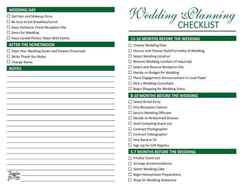planning checklist wedding planning checklist