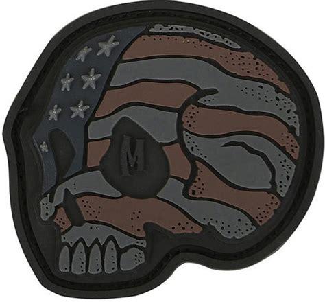 skull rubber st mxstskx maxpedition stripes skull patch st