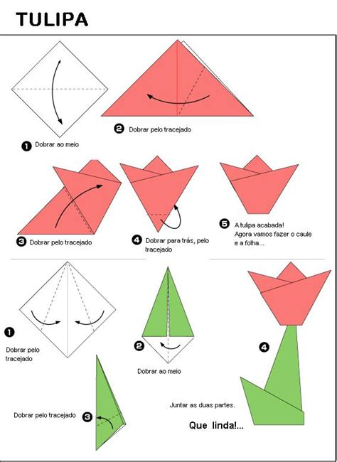 how to make a origami edvitec tulipa origami
