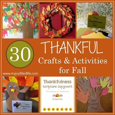 thankful crafts for 30 thankful crafts and activities for fall my filled