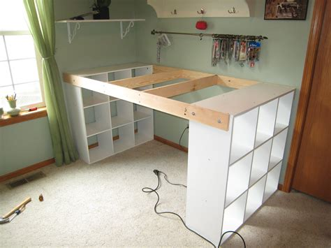diy craft table do it yourself white craft desk