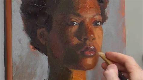 acrylic painting portraits tutorial how to paint acrylic portrait course