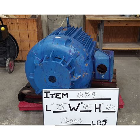 200 Hp Electric Motor by Used 200hp Eastern Electric Motor L505 Frame Motors