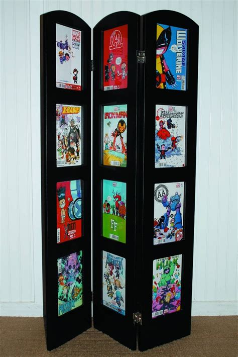 picture book display tri fold comic book display frame brian carnell