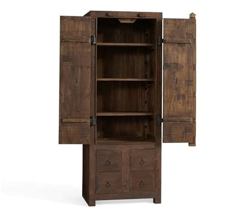 rockford woodworking rockford reclaimed wood storage tower pottery barn