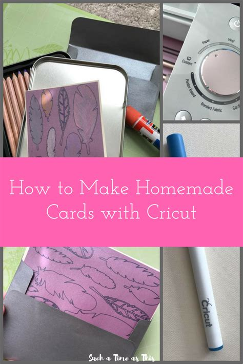 how to make air card how to make notecards easily with cricut cricut