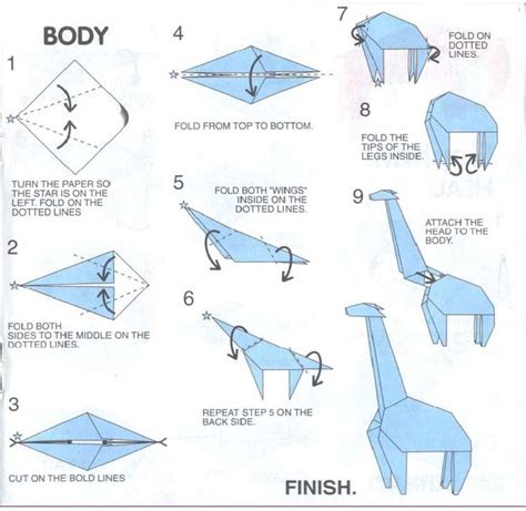 how to make origami giraffe 17 best images about origami and things on